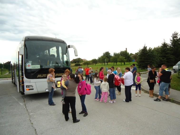 Naša djeca otputovala na ljetovanje u Selce